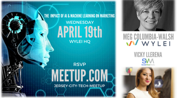 Apr 19 JCTM: The Impact of AI & Machine Learning on Marketing with Meg Walsh, Wylei